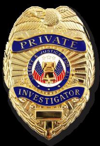 private investigator badge rgb