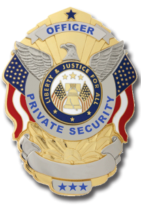 private security badge rgb